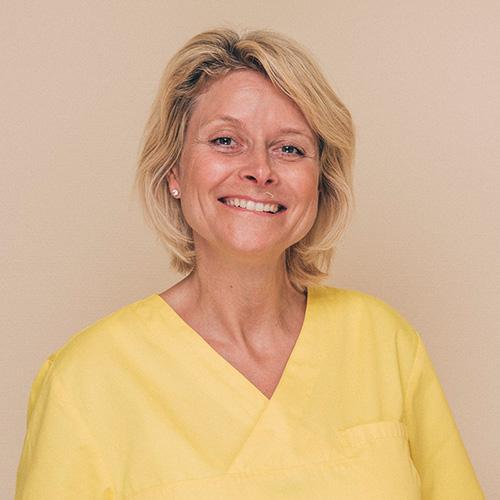 ZMP Michaela Modrow aus der Zahnarztpraxis Uta Rusch in Schönebeck (Elbe).