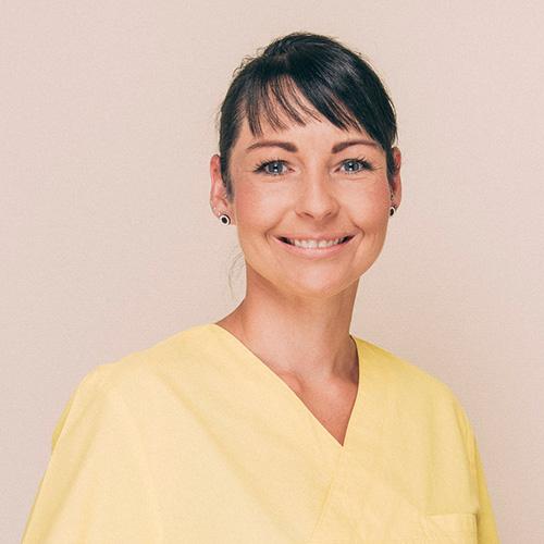 ZFA Sandra Göhlich aus der Zahnarztpraxis Uta Rusch in Schönebeck (Elbe).